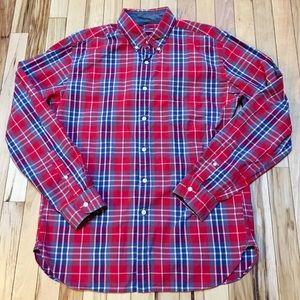 J. Crew Men's Plaid Button Down Shirt Size M